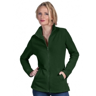 Polar damski FLEECE LADIES CIEMNOZIELONY